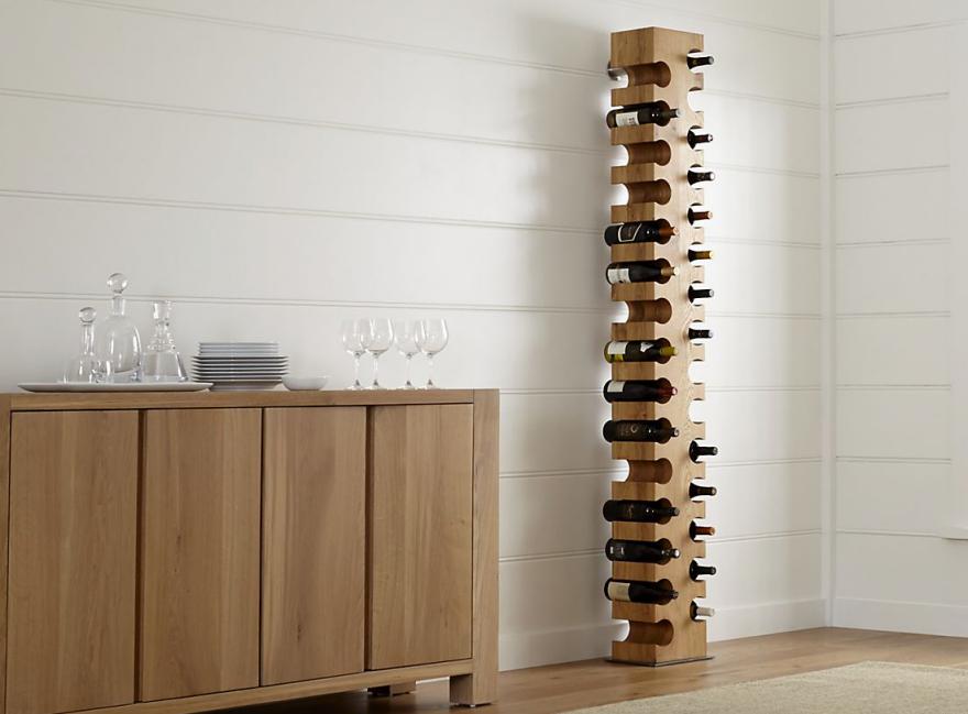 Enter A Caption Optional Crate And Barrel S Sur Standing Wine Rack