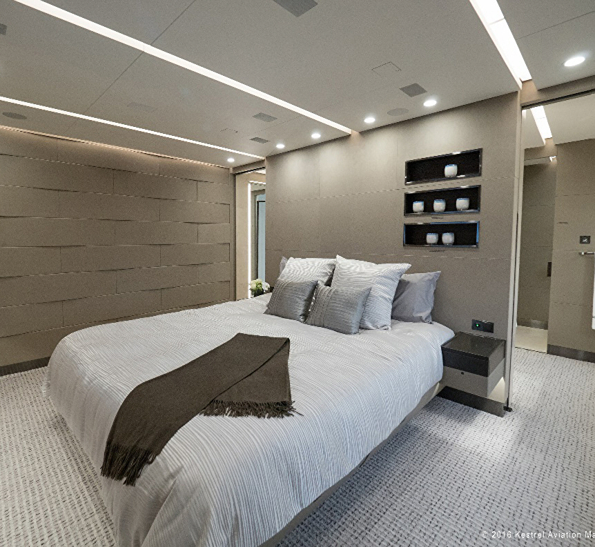 Turtles And Tails Master Bedroom Before And After: Boeing 787 Dreamliner Converted To Private Jet