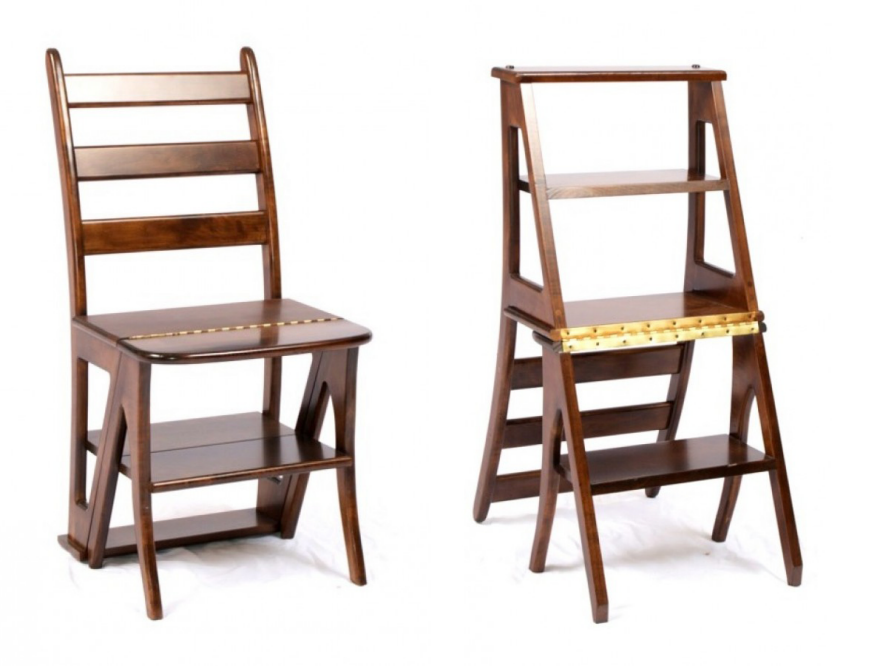 Image by Lake City Woodworkers  sc 1 st  Core77 & Different Design Approaches to the Transforming Library Chair - Core77