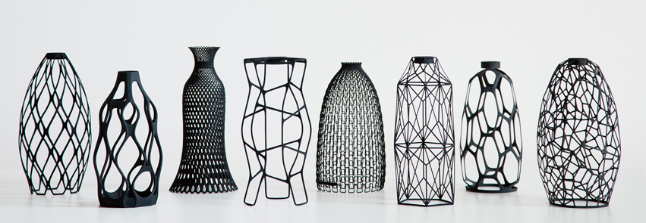 These Sleek 3d Printed Vases Are Plastic Bottles In Disguise Core77