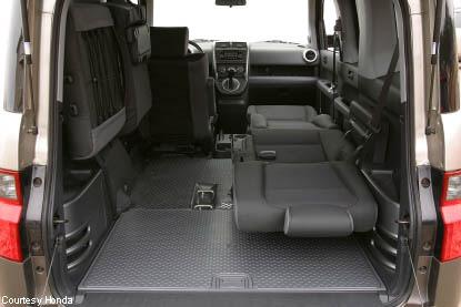 The Honda Element S Unsung Interior Design Brilliance Core77