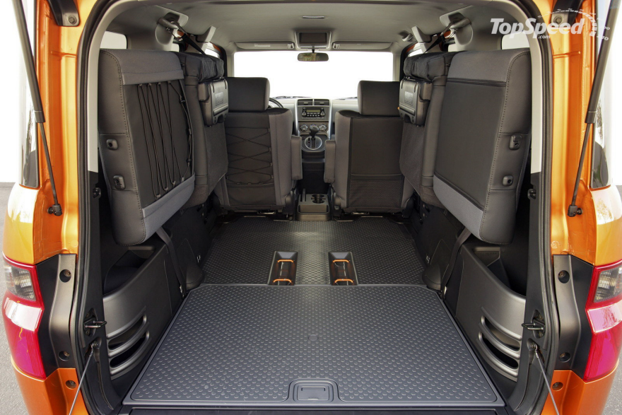 The Honda Element S Unsung Interior Design Brilliance Core77