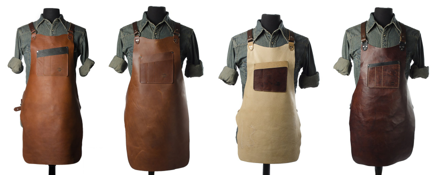 Fabulous Calavera Tool Works' Rugged Leather Shop Aprons - Core77 FH39