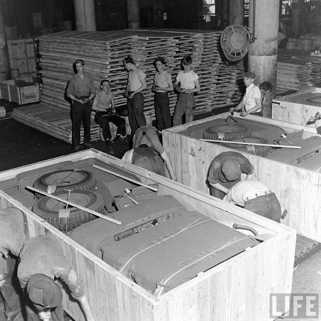 How WWII Jeeps Were Crated for Shipping - Core77