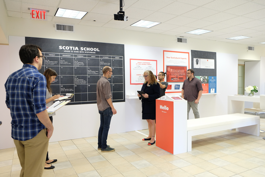 Reimagining the Branch Experience - by IDEO / Core77 Design Awards