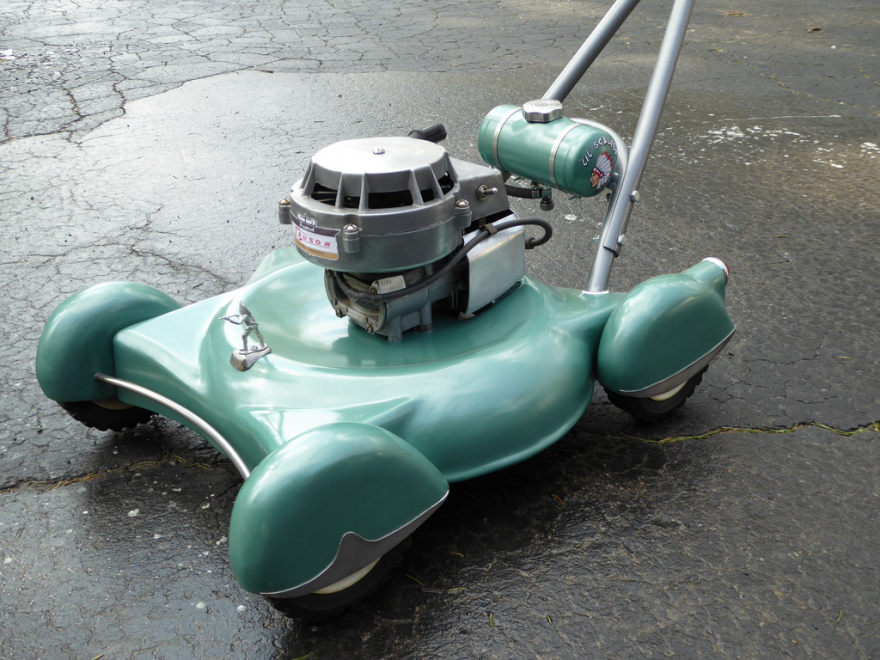 A Lowrider Lawnmower Styled After Vintage Cars Core77