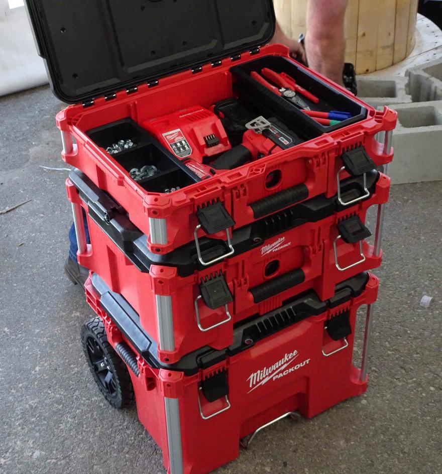 Milwaukee Packout Modular Storage Core77