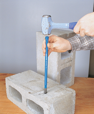 How to Hand Drill Holes in Stone and Concrete - Core77