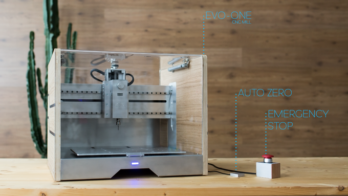 Evo One The Affordable Desktop Cnc Mill Core77