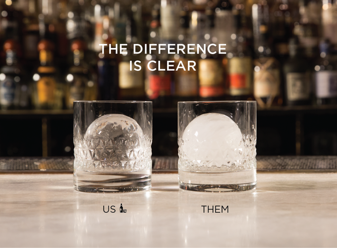 wintersmiths nbsp crystal clear sphere ice maker is a kickstarter
