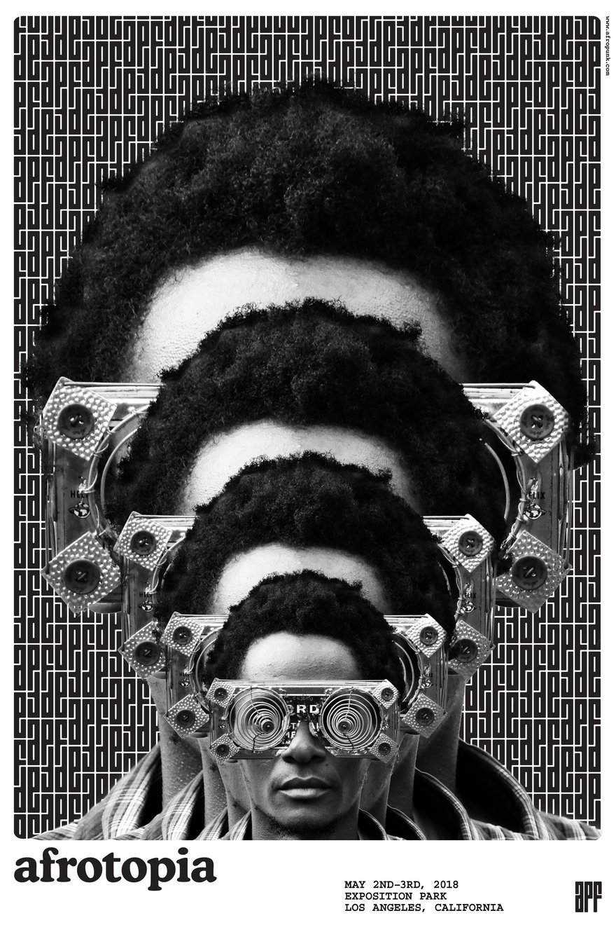 Shhh Worlds Largest Brat Fest Is >> Afropunk Festival By Yuma Naito Core77 Design Awards