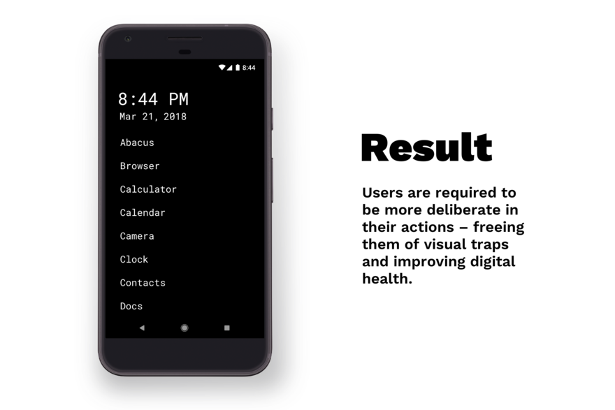 This Mobile Interface Aims to End Your Phone Addiction Through Simple Design