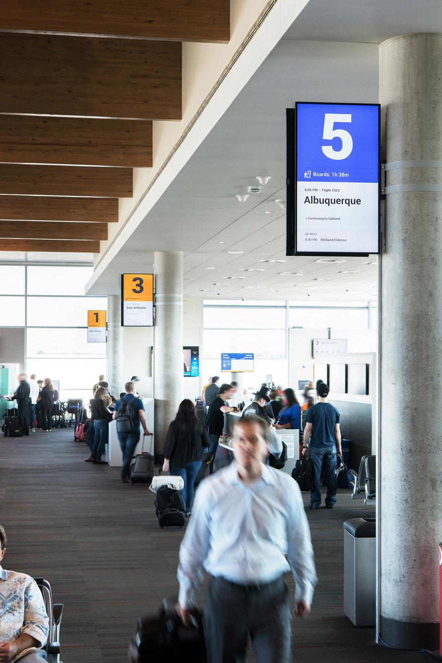 Southwest Airlines: Digital Wayfinding Design & Prototype