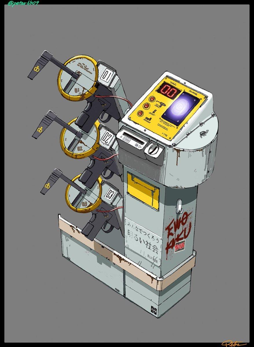 Dystopian Concept Designs By Quot Peter Who Draws Quot Core77