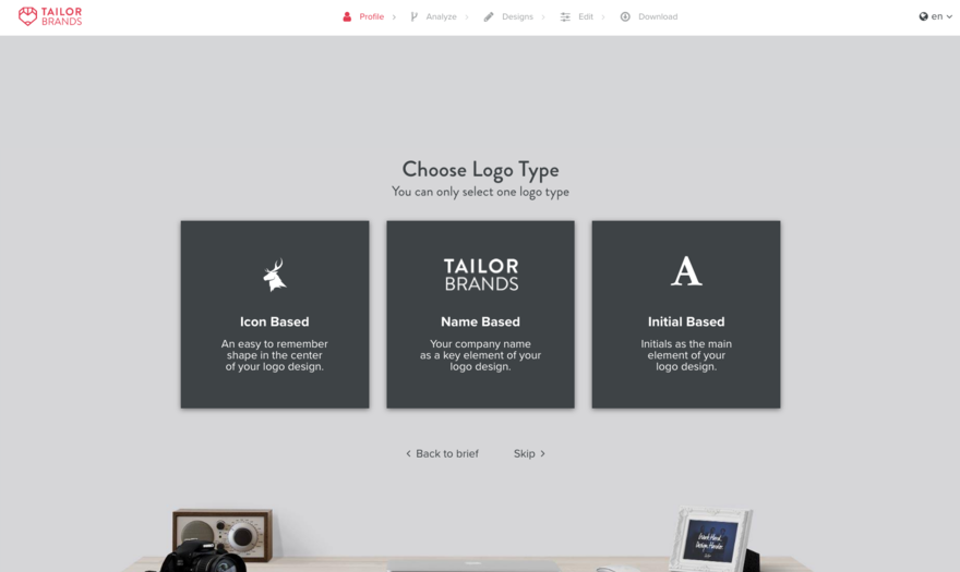 Tailor Brands Ai Designs Logos And Doesn T Do A Horrible Job Core77