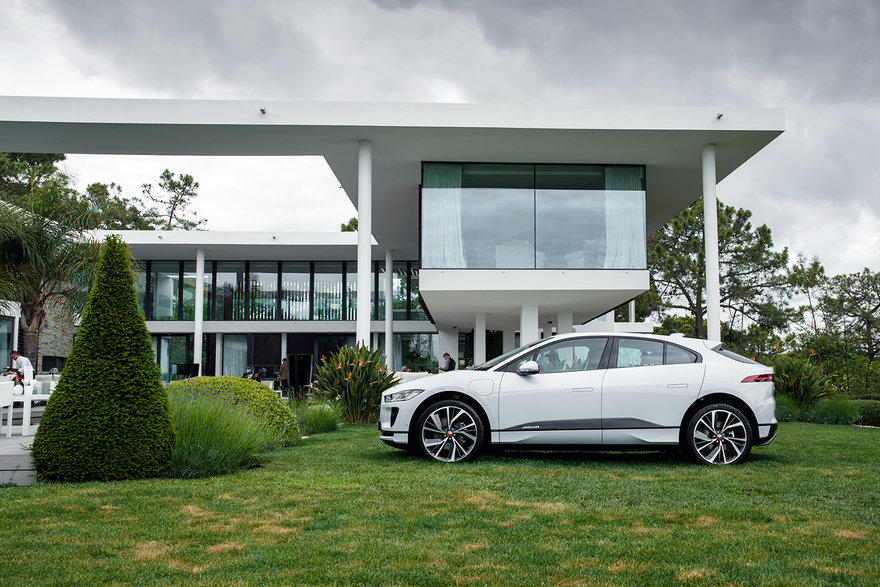 Jaguar s New I-Pace, Part 2: Going Over the Design Details with Production Studio Director Wayne Burgess