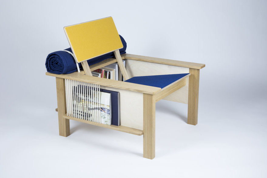 The Pack Horse Chair Wants You to Focus On Analogue Activities (And Eat More Snacks)