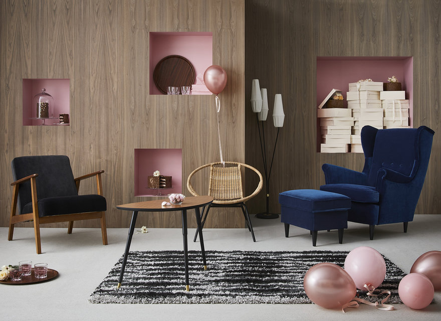 Ikea bringing back vintage furniture from the 39 50s 39 70s for Arredamento vintage anni 70