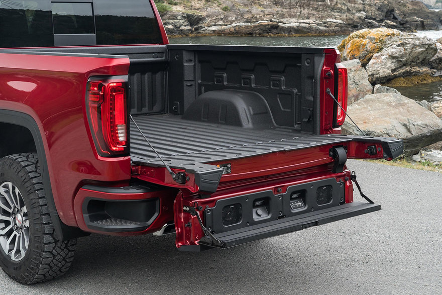 An Innovative Truck Design Feature: GMC's Multifunctional ...