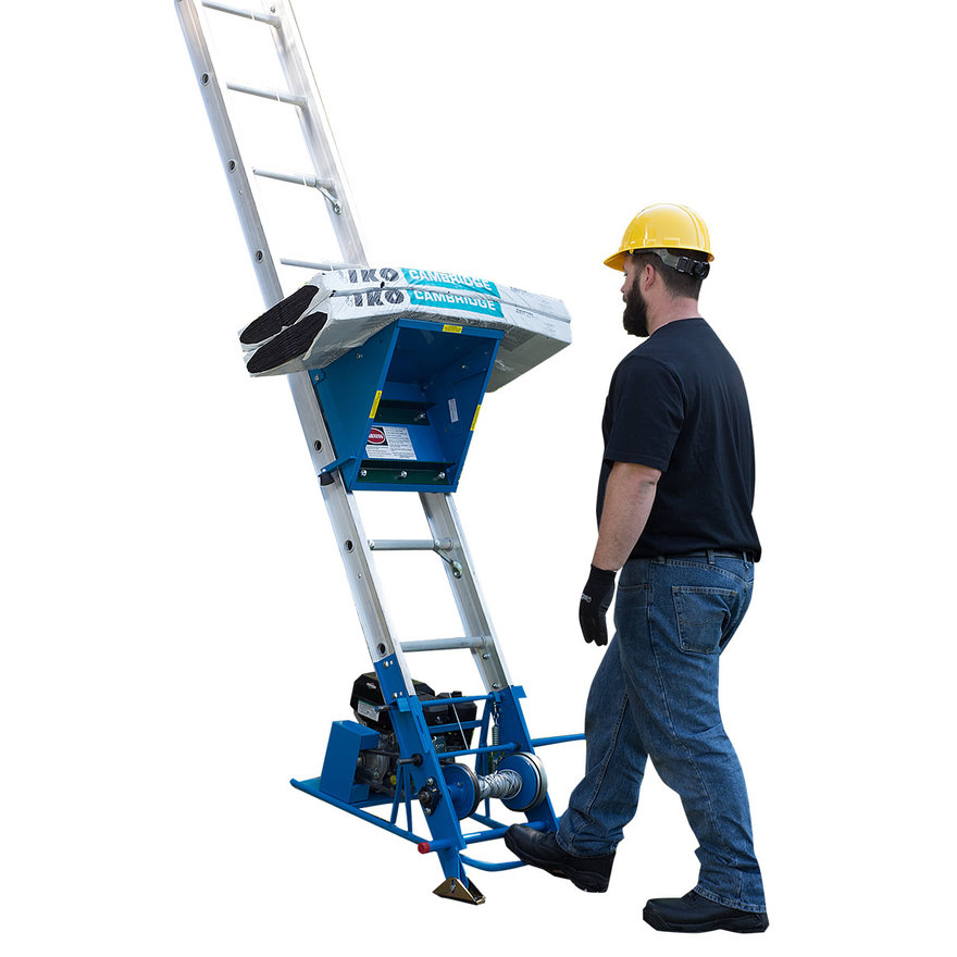 Safety Hoist: A Ladder That Carries the Heavy Stuff for You