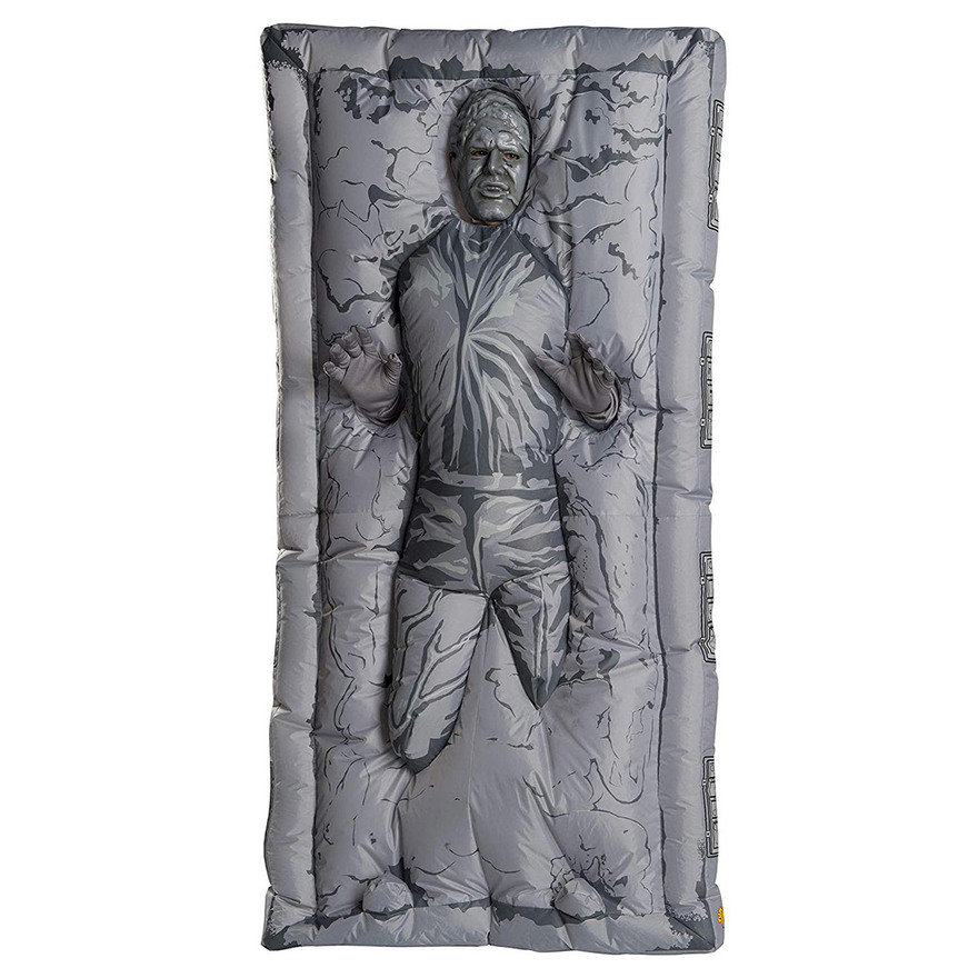 Halloween Costume Idea: Han Solo in Trapped in Carbonite