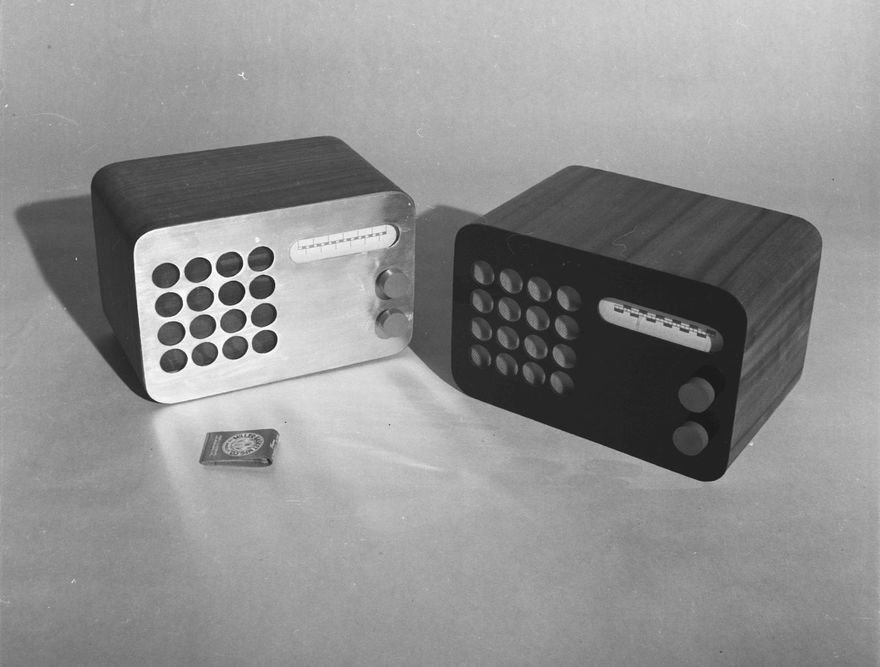 A Never-Manufactured Eames Design for a Radio, Deemed Too Radical in