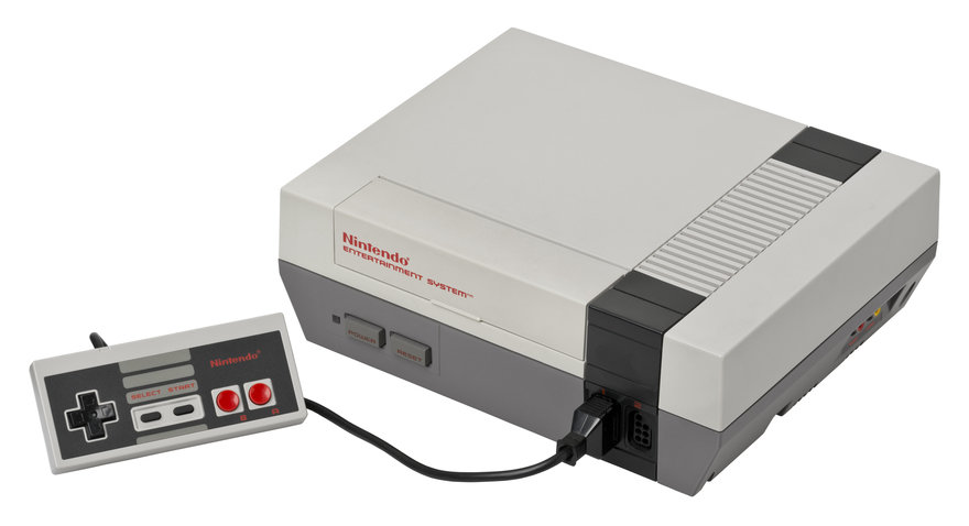 Love Hultén s Retro-Modern Update to Nintendo s NES Gaming Console