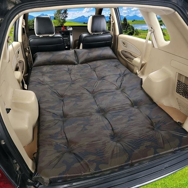 (Probably Awful) In-Car Solutions for Sleeping on a Flat Surface