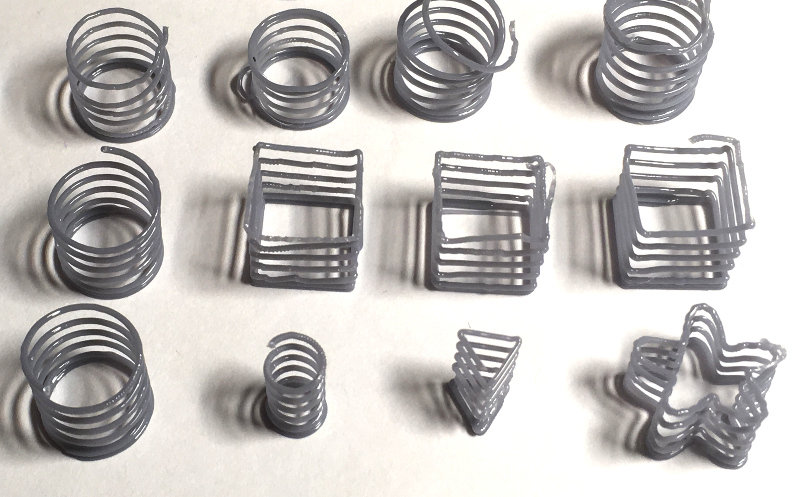 Midair 3D Printing: Making Coil Springs Without Support