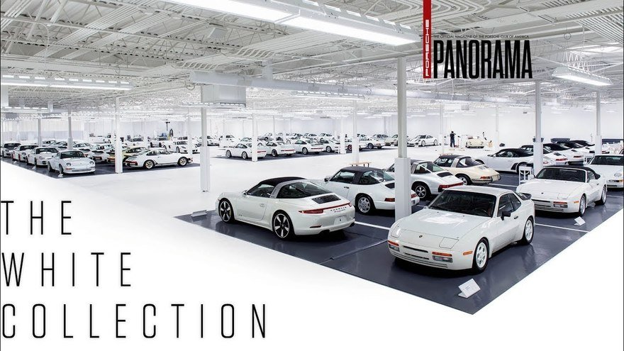 Look Inside This Comprehensive  Secret  Museum of All White Porsches
