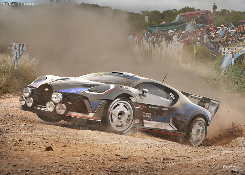 Fanciful Renderings Friday: Supercars Reimagined as Rally Cars