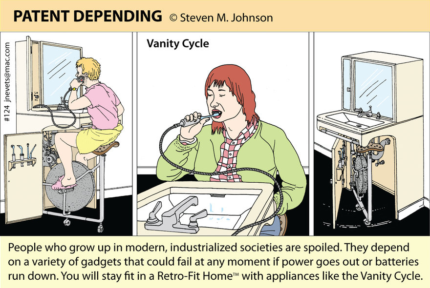Steven M. Johnson s Bizarre Invention #124: The Vanity Cycle