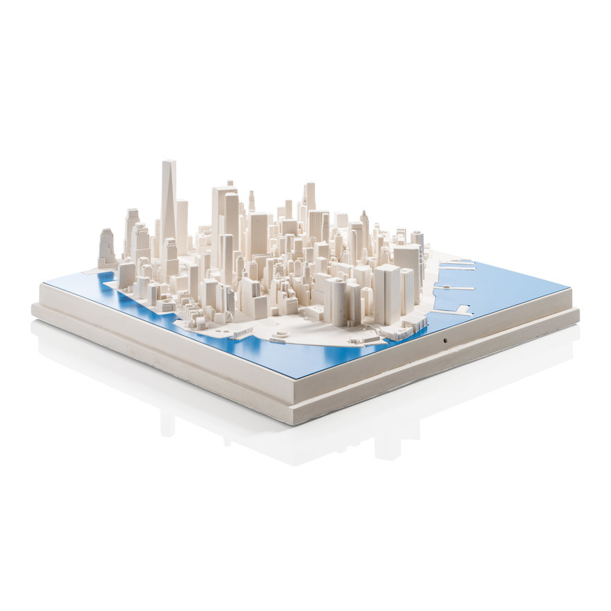 Give the Gift of Perspective: 3D Cityscapes by Chisel & Mouse