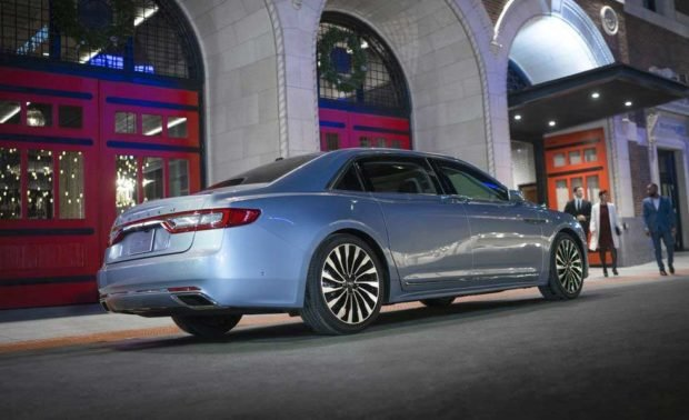 Lincoln Bringing Back Suicide Doors for the Continental