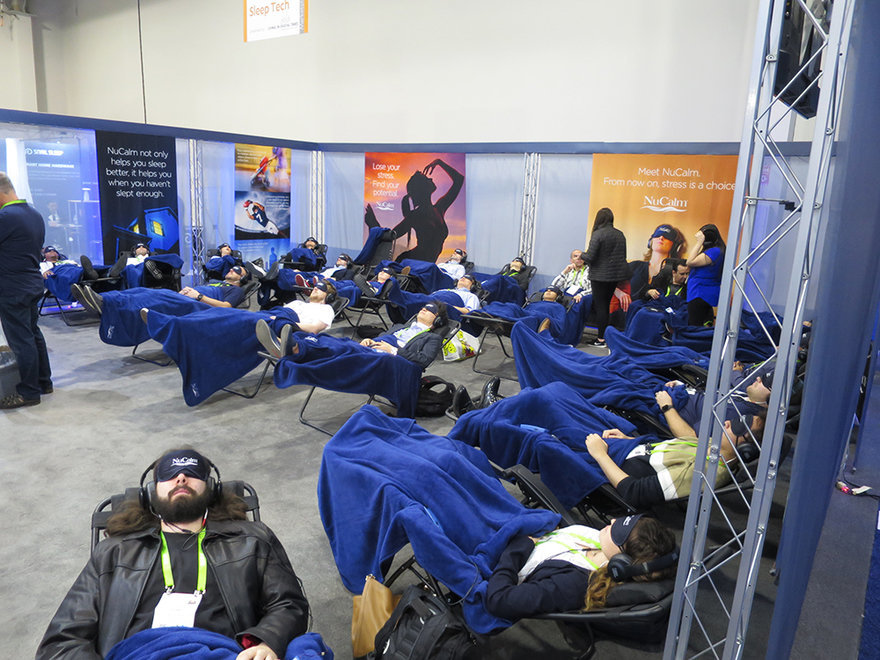 CES Survival Guide: How To Properly Take Power Naps in Public