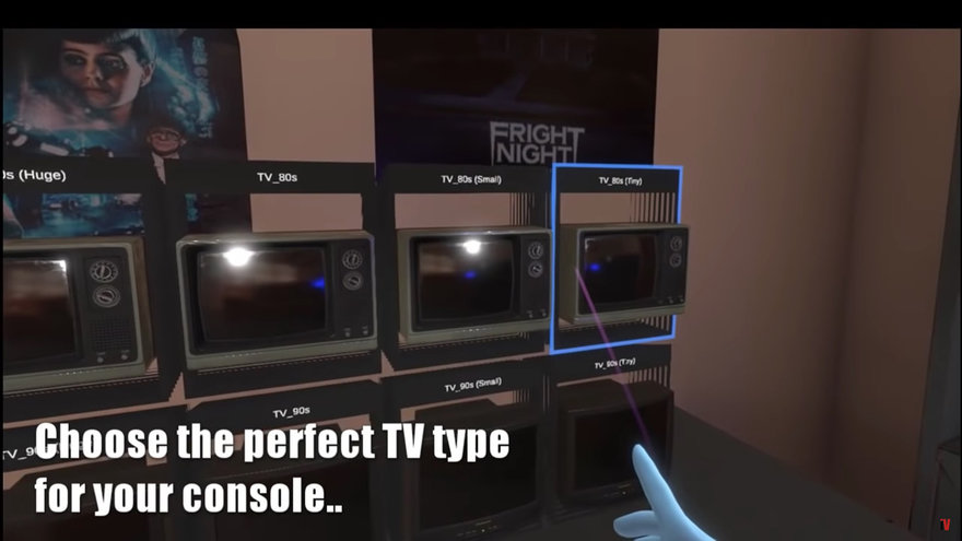 EmuVR Lets You Play  80s/ 90s Videogames--in  80s/ 90s Virtual Reality Settings
