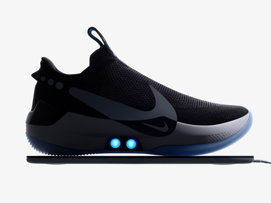 Nike Introduces Self-Lacing Sneakers in a New Context