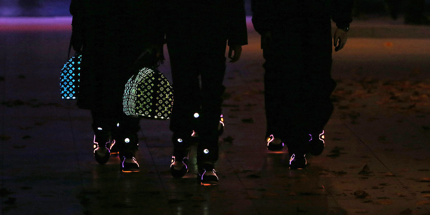 Hell in a Handbasket: Louis Vuitton s Exclusive  Glow in the Dark  Bags