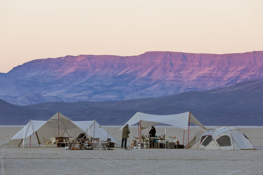 Snow Peak s New Three-Tiered Tent Range Gives Glamping a Good Name