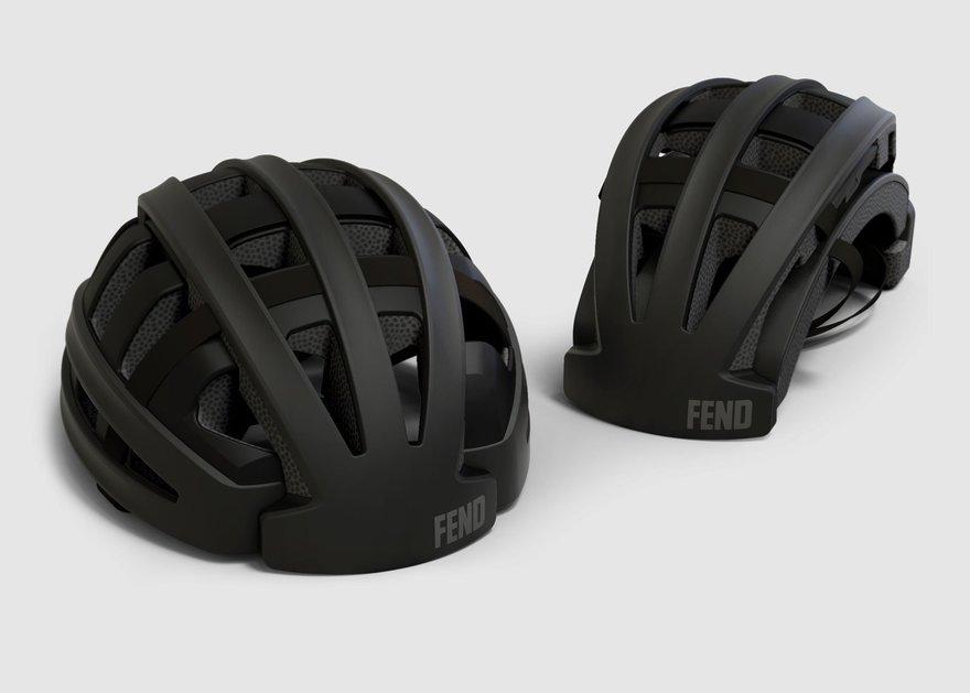 The Fend Folding Bike Helmet