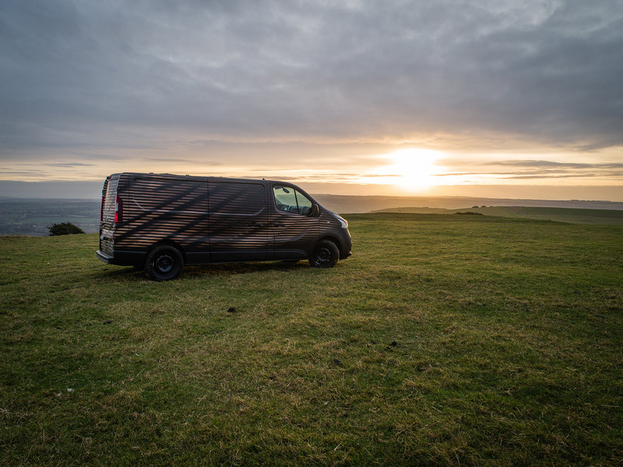 Nissan s Mobile Workshop Van for Woodworking Pros, with Solar Charging for Power Tools