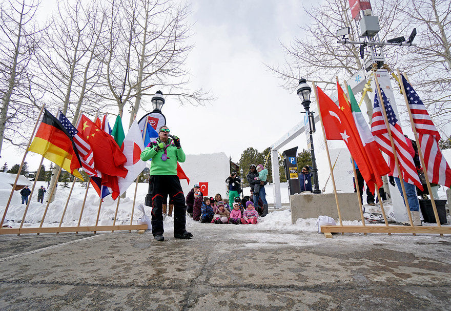 The Breckenridge International Snow Sculpture Championships, Part 1