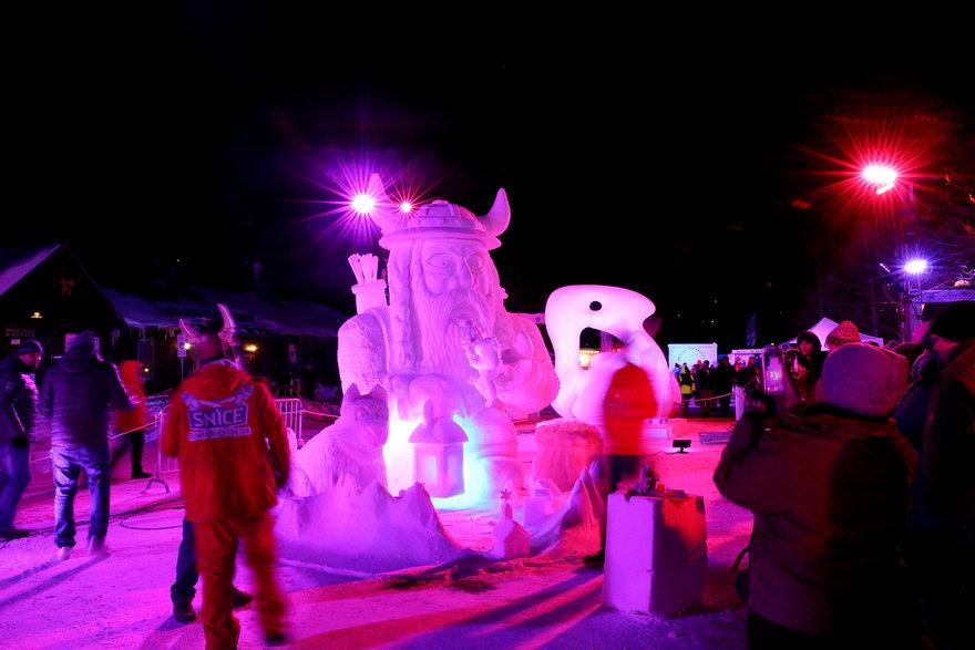 The Breckenridge International Snow Sculpture Championships, Part 2