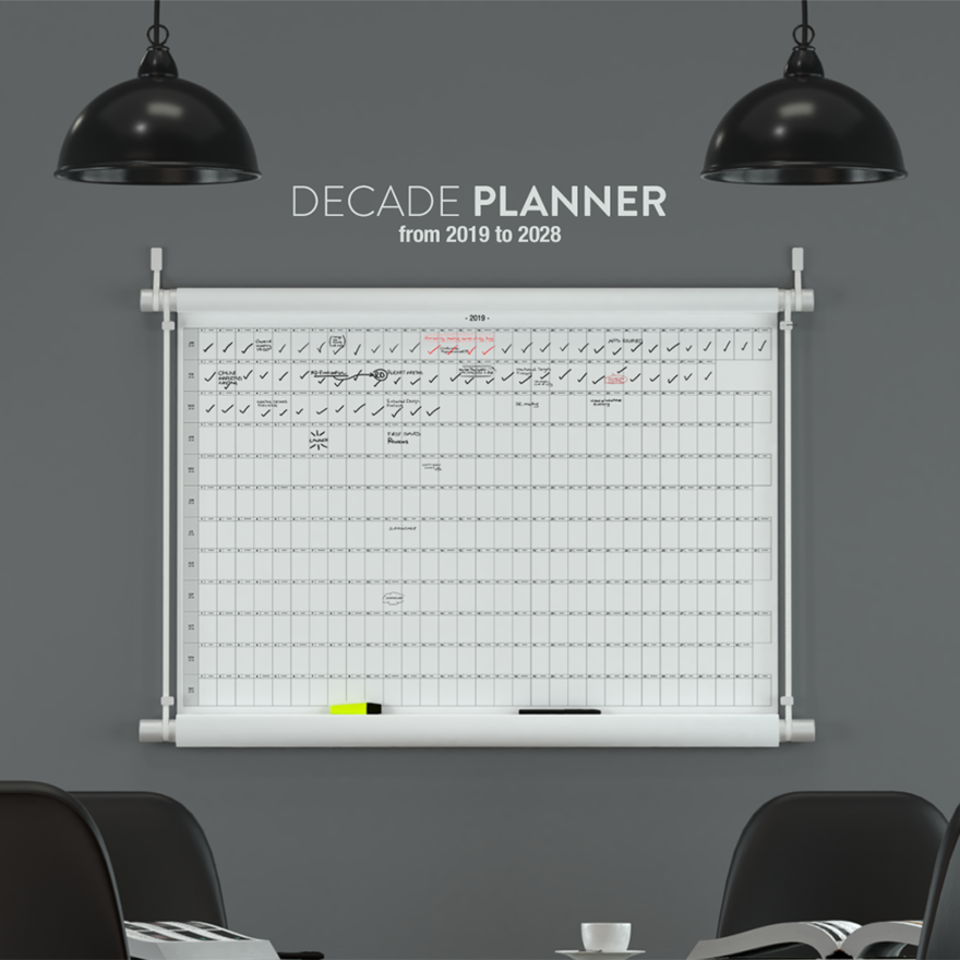 The Decade Planner is a Dangerous Toy for Compulsive Organizers