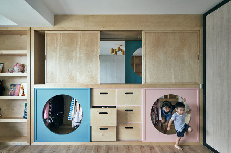 This Children s Wardrobe Ignites a Sense of Wonder Through a Series of Hidden Tunnels and Doors