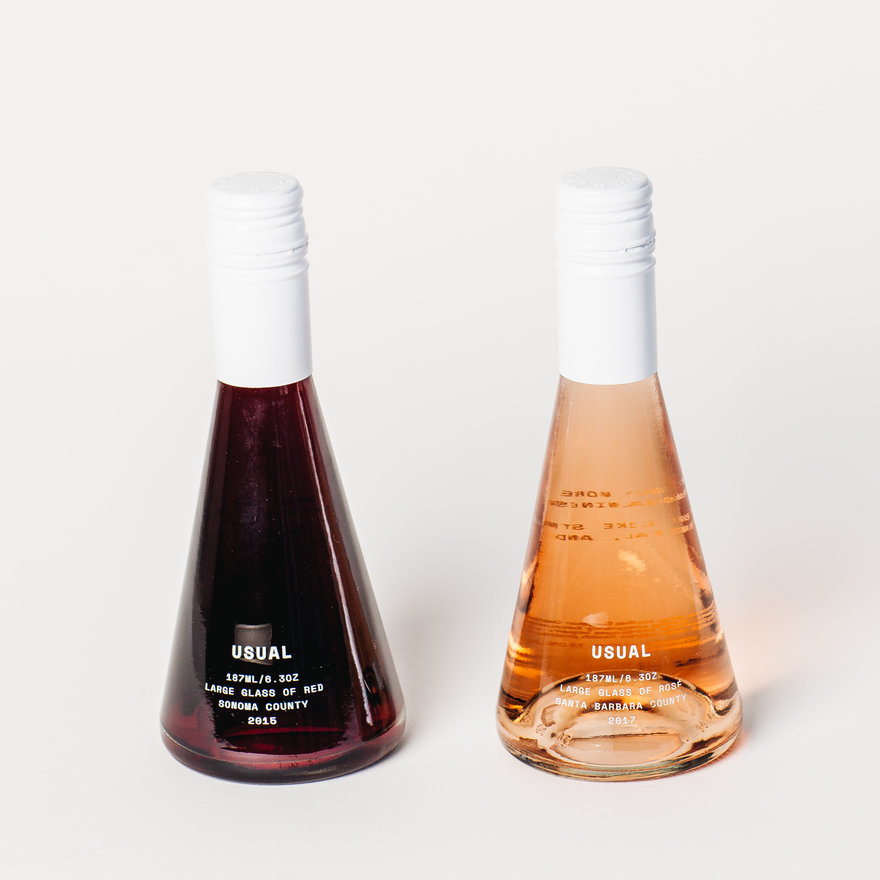 Karim Rashid Designs a Single-Serving Wine Bottle for Usual Wines