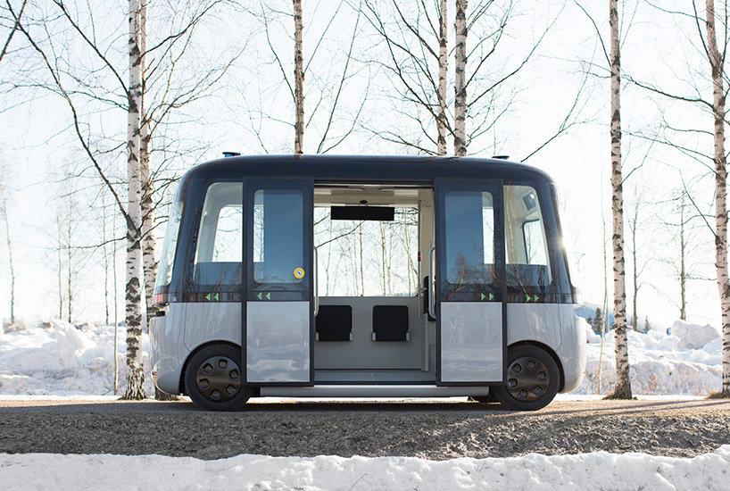 Muji s Autonomous Shuttle Bus Debuts in Finland