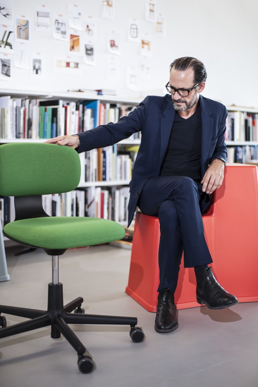 Konstantin Grcic on Designing Furniture for Non-Territorial Office Environments