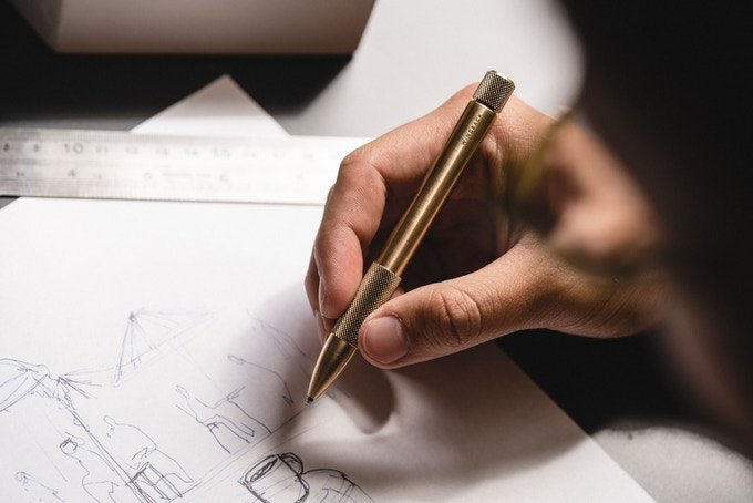 Currently Crowdfunding: A Mechanical Pen That's Built to