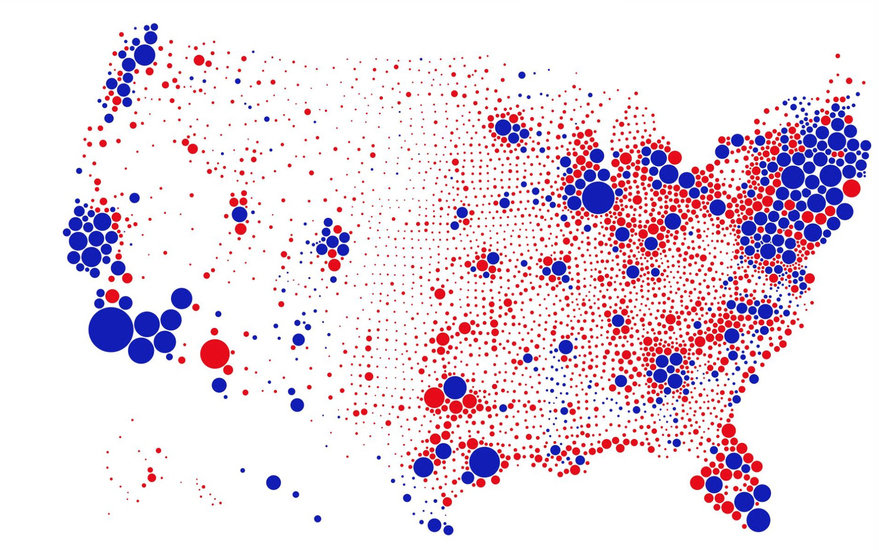 A Great Example of Better Data Visualization: This Voting ...